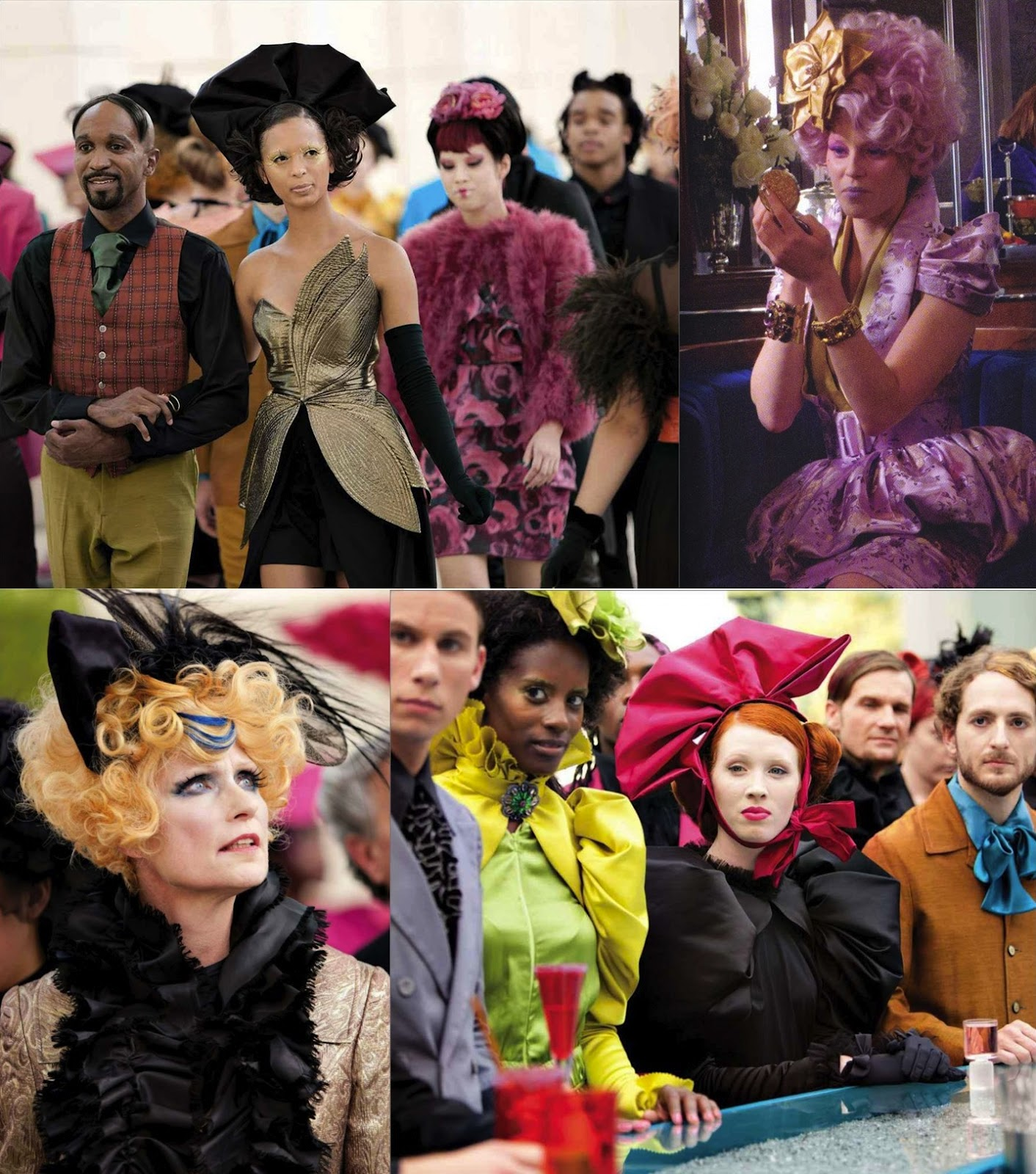 Conspicuous Consumption Audience Relationships With Capitol Fashion In The Hunger Games