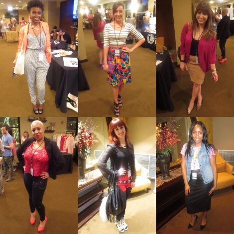 Aren't they lovely!! Just a few of the blogger babes that attended the event! (L-R) Angelica, Felicia, Marisa, Larinda, Jill, Kia