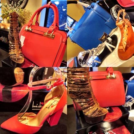Luichiny (Bronx/Diba) shoes and handbags