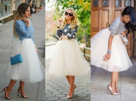 tulle skirt, fashion, style, spring fashion trend