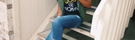 god be knowin t-shirts, lovestyletransform, women's fashion, stl fashion blogger, privileged heels, summer fashion