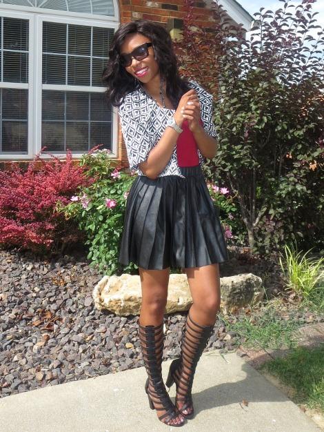 eshakti blogger review, eshakti jackets, bstyle, stl fashion blogger, dsw gladiator sandals, summer trends