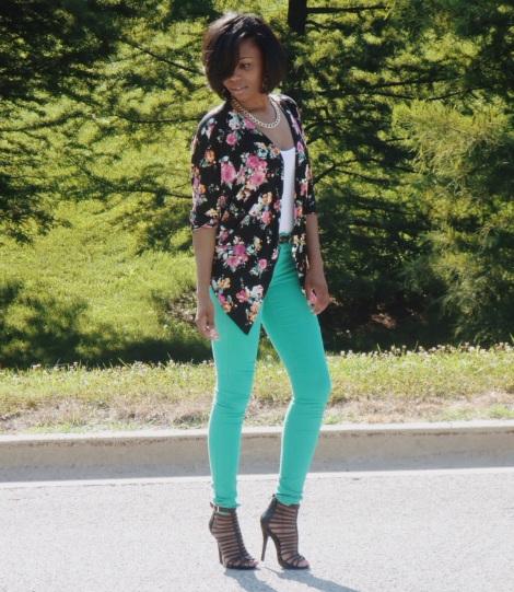 kimono, charlotte russe kimono, summer fashion, stl fashion blogger, charlotte russe heels, tj max purse, maxxinista