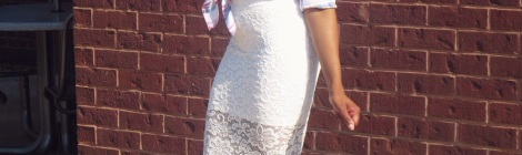 aeropostale top, lace skirt, stl fashion blogger, lovestyletransform, charlotte russe shoes