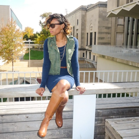 bstyle, naturalizer, lovestyletransform, stlfw, stl fashion blogger, niya shoes, janelle riding boot, style, brown shoe company