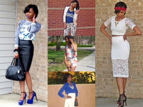Some of my looks from STLFW Spring 2014!!