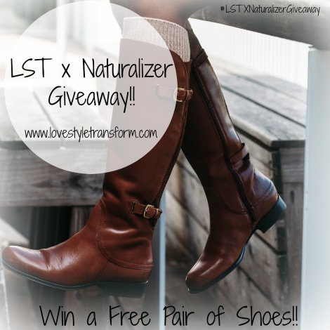 lst, naturalizer, lstxnaturalizer, giveaway, stlfashionblogger, janelle boot,